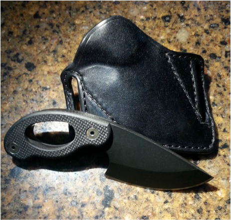 Grayman Mini Dinka JEA Custom knife holster sheath