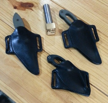 Grayman Dinka Mini-dinka Suenami 4 in JEA Custom sheaths knife holsters